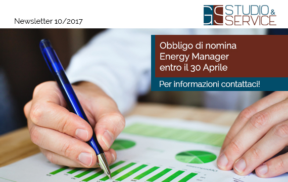 Obbligo nomina energy manager
