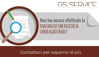 Obbligo di diagnosi energetica - GS Service