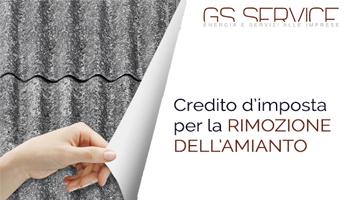 Credito d'Imposta Rimozione amianto - GS Service